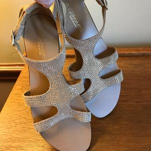 NWOT women's A. Giannetti leather Sandals.